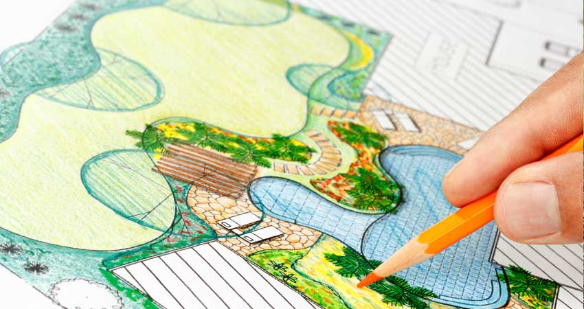 Landscape blueprint